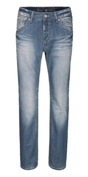 BLUE MONKEY FREDDY 4288 HOSE HERREN JEANS SLIM FIT
