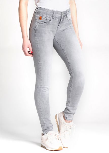 MIRACELE OF DENIM Jeans SP-19-2002-2504 Ellen Skinny Fit Rain Grey