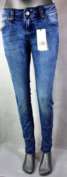 Blue Monkey Luna 3936 Damen Fashion Jeans mit Pailletten