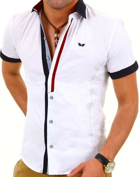 CARISMA 9007 cooles Herren 1/2 Arm Sommerhemd