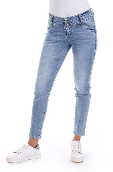 BLUE MONKEY Sandy 30278 Cropped Skinny Fit