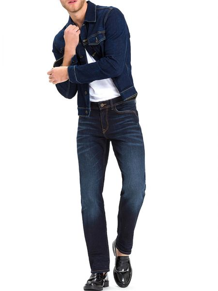 Cross Jeans Antonio Deep Blue E161-089 Herren Jeans