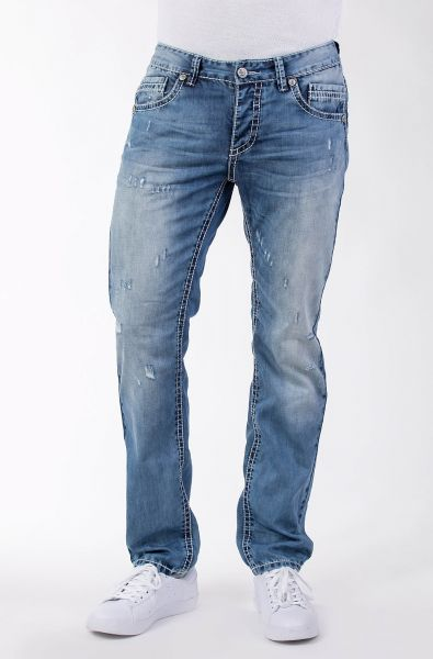 Blue Monkey Freddy 4439 Top Herrenjeans in modischer Waschung