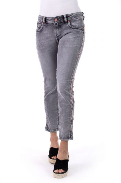 Blue Monkey Laura-10453 Cropped/Skiny grey