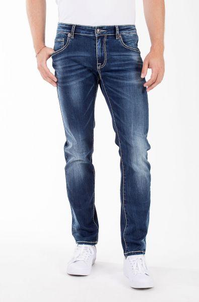 Blue Monkey Markus 4475 Slim Fit lässige Herrn Jeans