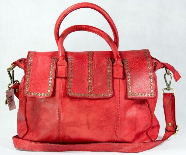 RAVE-CRFT Exklusive Damen Leder Tasche