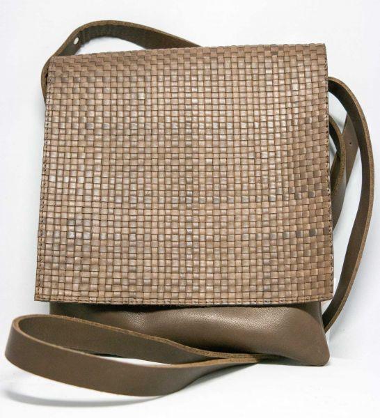 RAVE-CRAFT Tasche modisch mit geflochtener Lasche