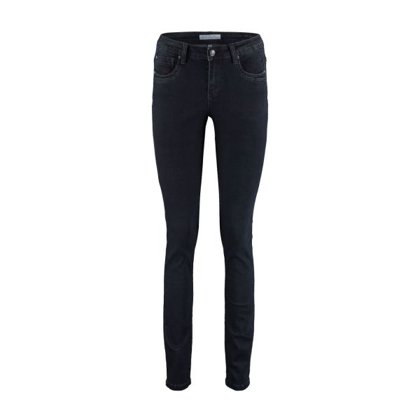 RED BUTTON SRB3504 Jimmy black Damen Stretch Jeans