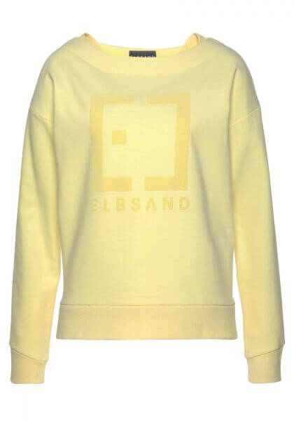 ELBSAND 70105 Finnia Sweatshirt yellow