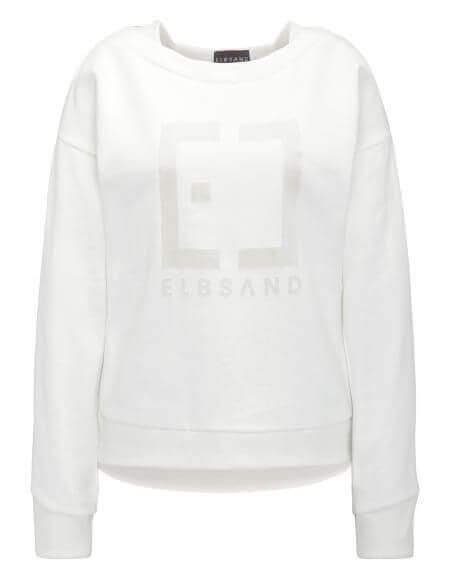 ELBSAND 70121 Finnia Sweatshirt cloud white