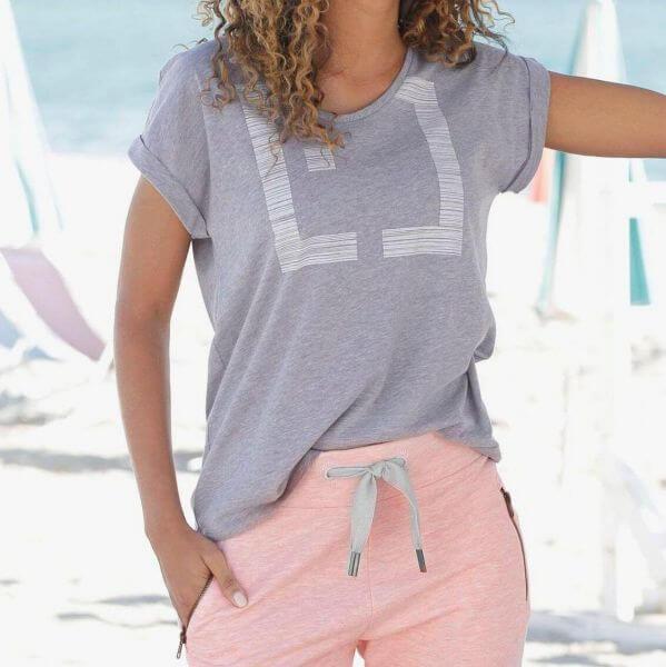 ELBSAND 70130 ES LEIKNA T-Shirt blush`lilac