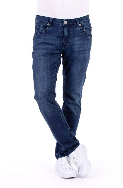 BLUE MONKEY FREDDY 4493 HERREN JEANS SLIM FIT