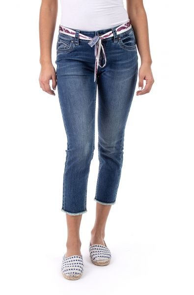 Blue Monkey Charlotte-30176 7/8 Skinny/denim