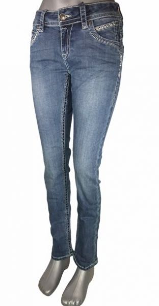 Blue Monkey Stacy 30232 Skinny Damen Fashion Jeans