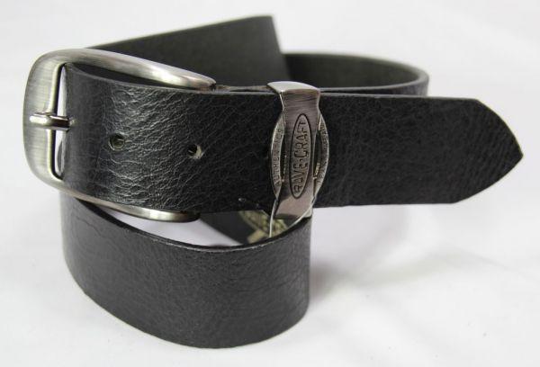 RAVE-CRAFT 5698 Modischer Jeans Ledergürtel Rind-Leder-