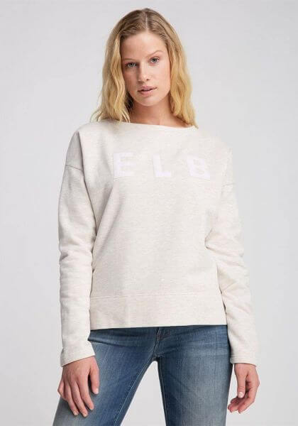 ELBSAND Alrun 70216-166 cloud white Sweatshirt