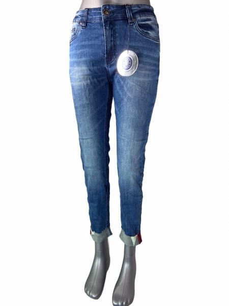 Blue Monkey Hannah 30225 7/8 Jeans Turn-Up