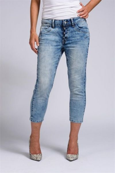 Red Butten 7/8 Damen Jeans Suz snowwash