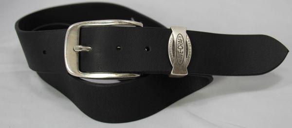 RAVE-CRAFT 5691 Modischer Jeans Ledergürtel Rind-Leder