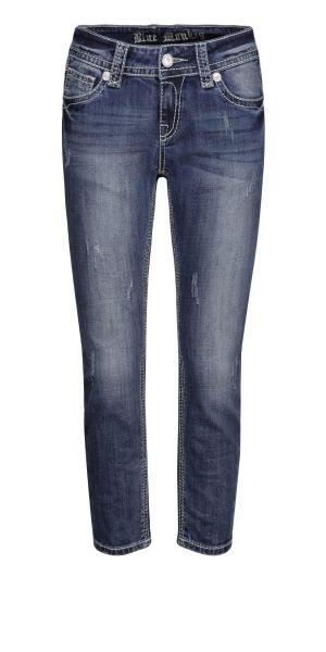 Blue Monkey Luna Top modische Damen 7/8 Fashion Jeans