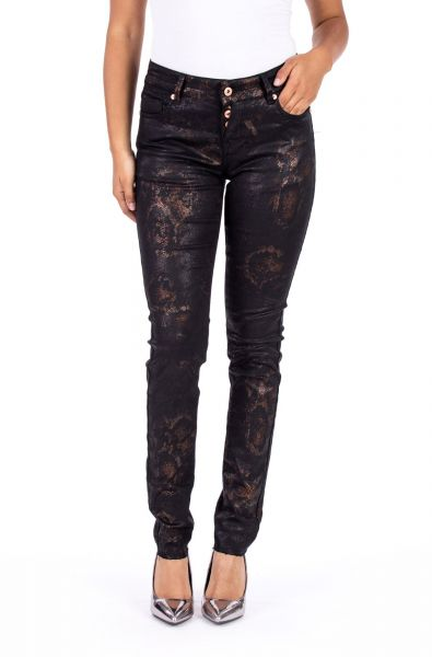 Blue Monkey Mary 10338 Cropped Skinny Fit