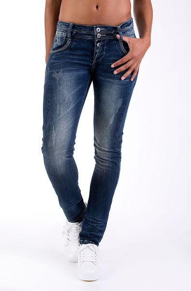 Blue Monkey modische Damenjeans Anny 1126-10051