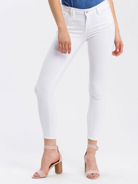 Cross Jeans P477-084 Giselle WHITE Damen 7/8